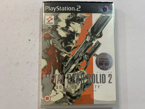Metal Gear Solid 2 Sons Of Liberty Complete In Original Case