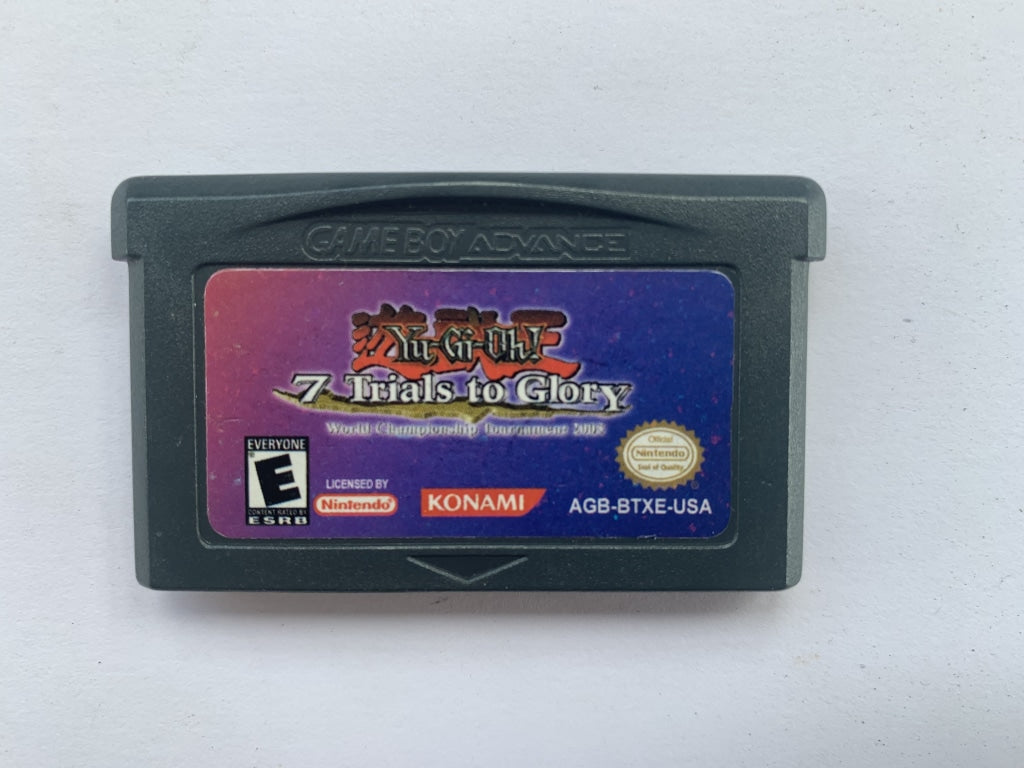 Yugioh 7 Trials To Glory World Championship Tournament 2005 Cartridge