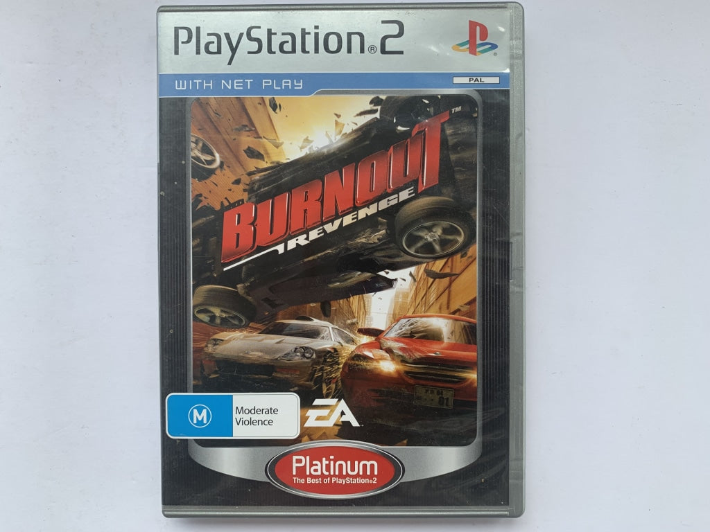 Burnout Revenge Complete In Original Case
