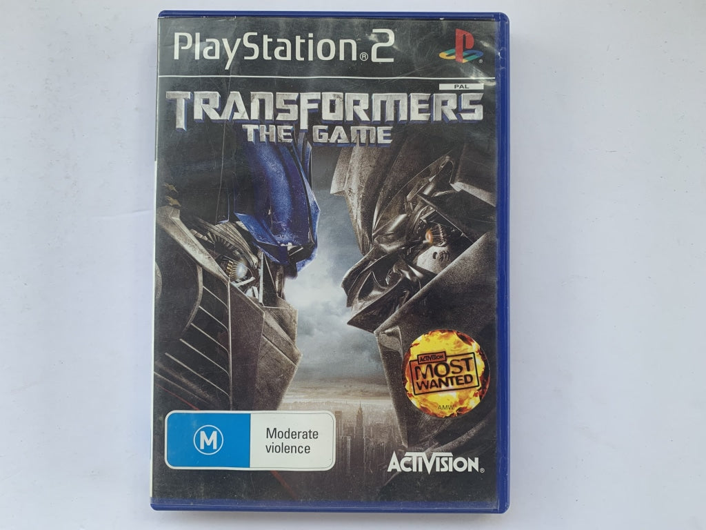 Transformers The Game In Original Case
