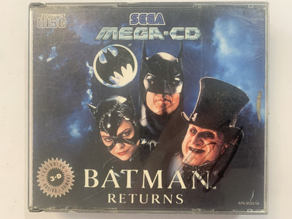 Batman Returns In Original Case for Sega Mega CD