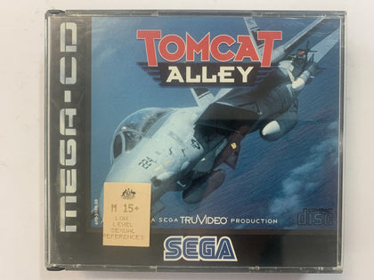 Tomcat Alley Complete In Original Case for Sega Mega CD