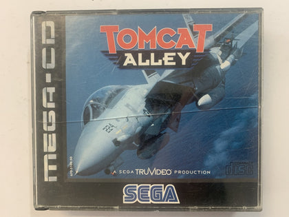 Tomcat Alley In Original Case for Sega Mega CD
