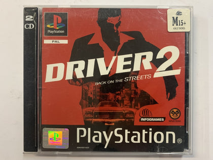 Driver 2 2 Disc Set Complete In Original Case