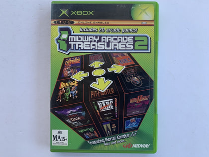 Midway Arcade Treasures 2 Complete In Original Case