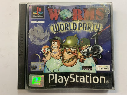 Worms World Party Complete In Original Case