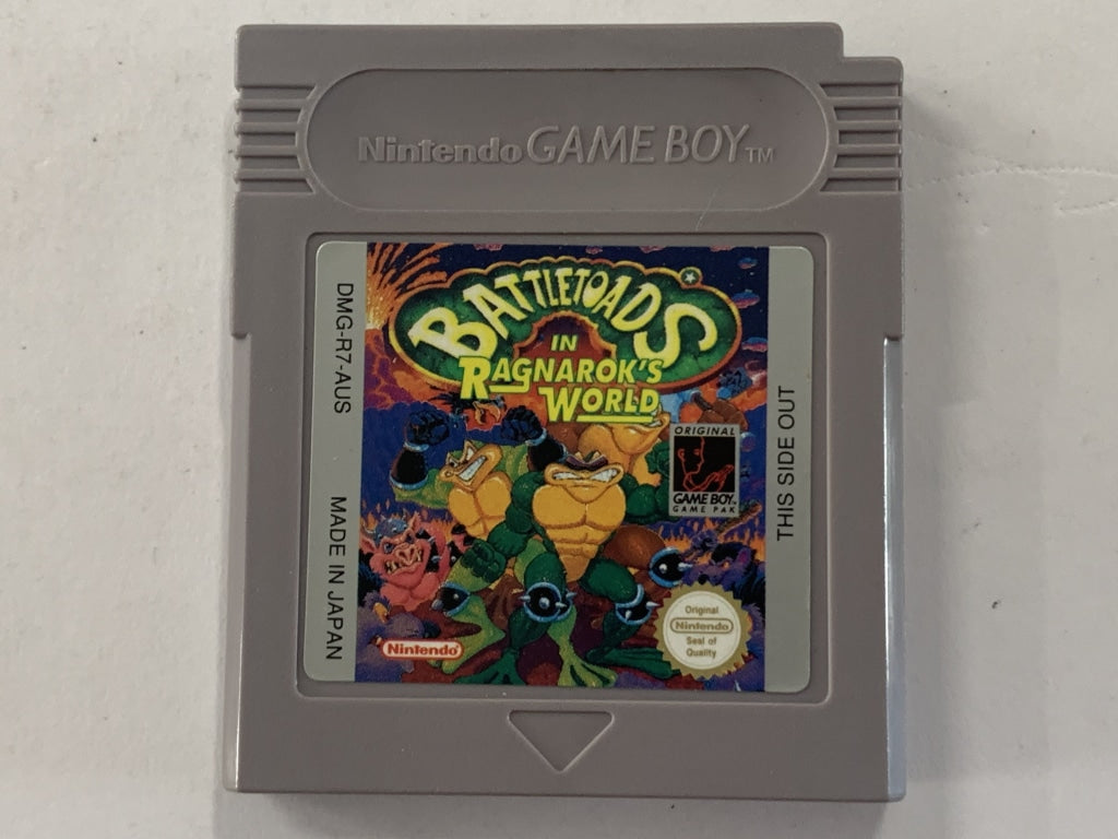 Battletoads in Ragnarok's World Cartridge