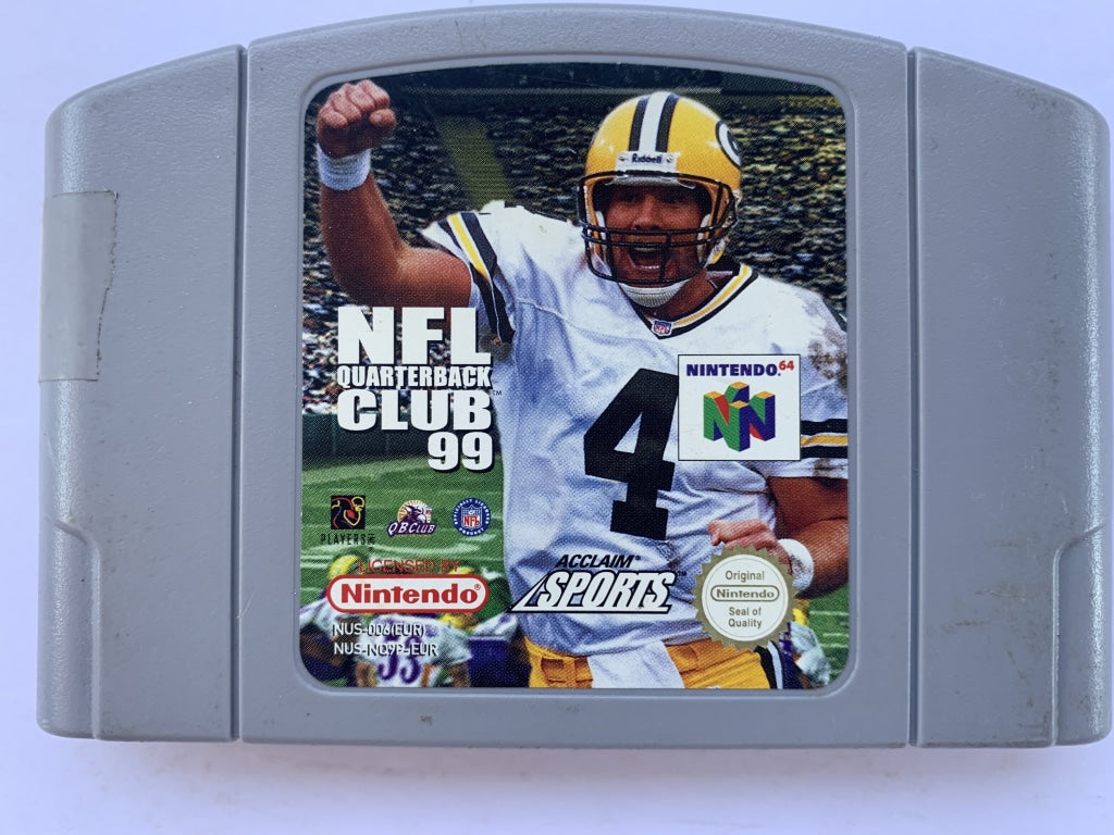 NFL Quarterback Club 99 Cartridge