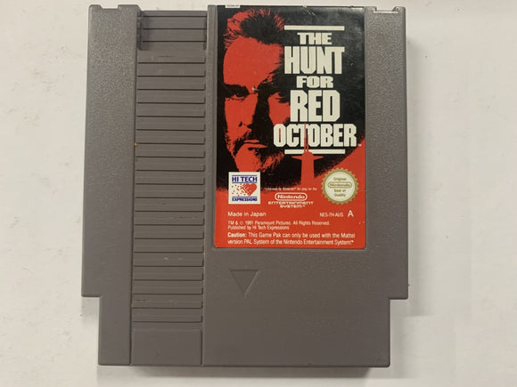 The Hunt For Red October Cartridge