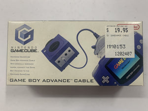 Genuine Gamecube - Gameboy Advance Link Cable Complete In Box