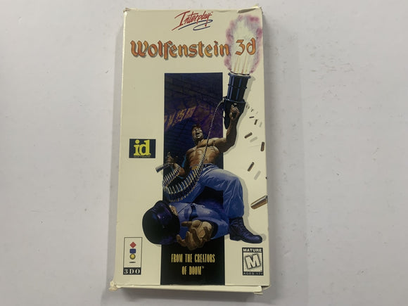 Wolfenstein 3D for Panasonic 3DO Complete In Box
