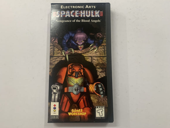 Space Hulk Vengance Of The Blood Angels Complete In Box