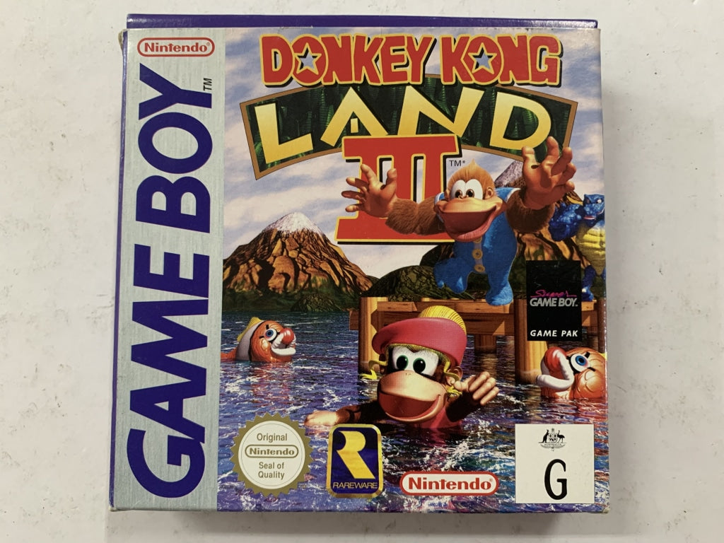 Donkey Kong Land 3 Complete In Box