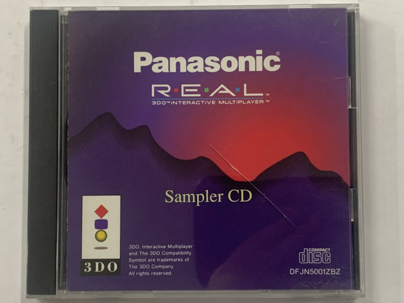Panasonic 3DO REAL 3DO Interactive Multiplay Sampler CD Complete In Original Case