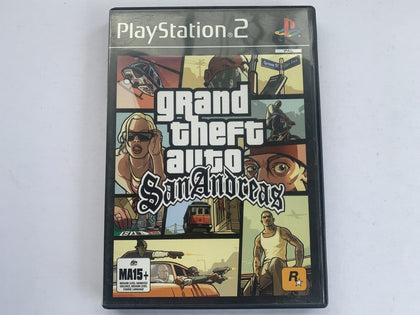 Grand Theft Auto San Andreas Complete In Original Case
