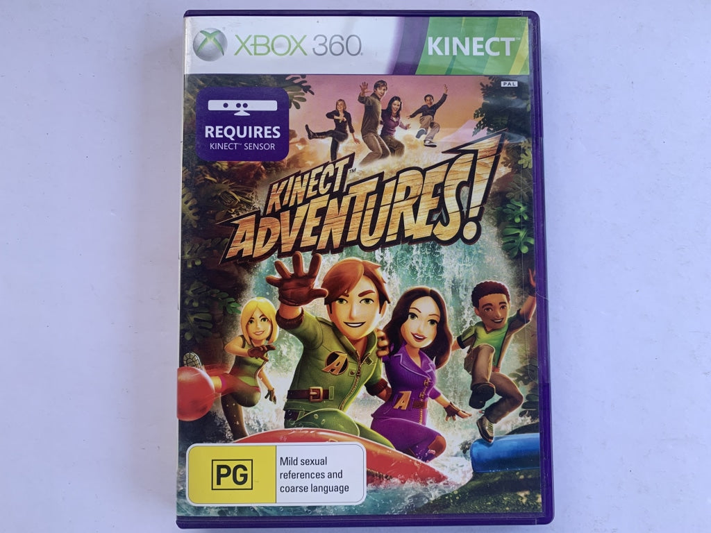 Kinect Adventures Complete In Original Case
