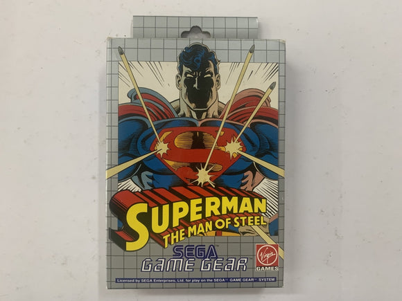 Superman The Man Of Steel Complete In Box