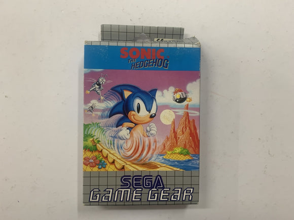 Sonic The Hedgehog Complete In Box
