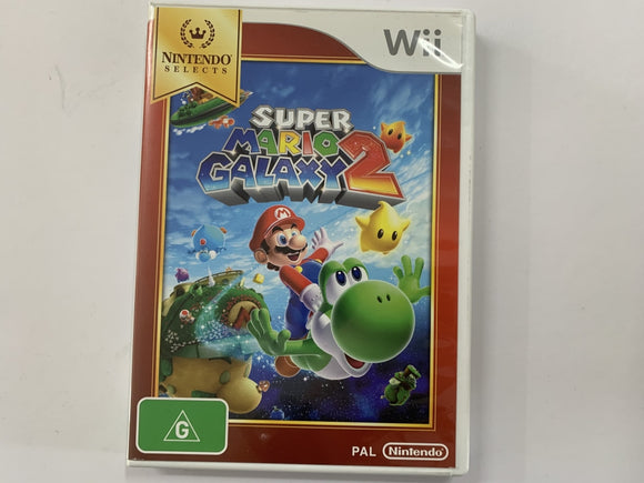 Super Mario Galaxy 2 Complete In Original Case