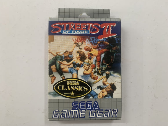 Streets Of Rage 2 Complete In Box