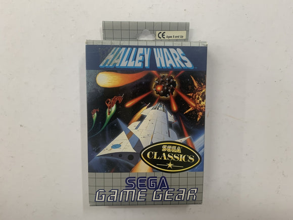 Halley Wars Complete In Box