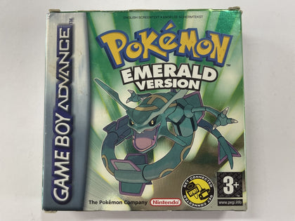Pokemon Emerald Version Complete In Box