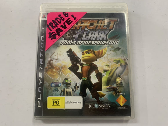 Ratchet & Clank Tools Of Destruction Complete In Original Case