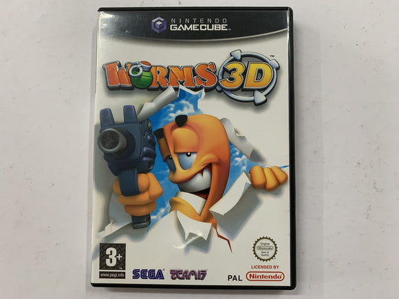 Worms 3D Complete In Original Case