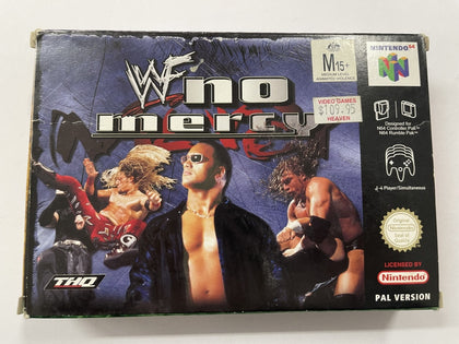 WWF No Mercy Complete In Box