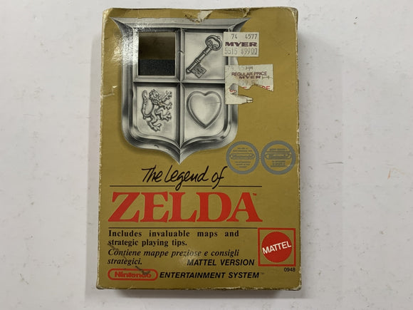 The Legend of Zelda Complete In Box