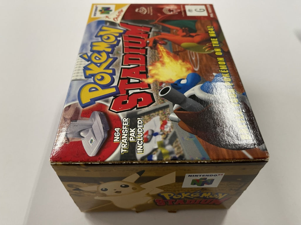 Pokemon Stadium Complete In Box with Transfer Pack
