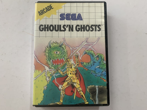 Ghouls N Ghosts Complete In Original Case