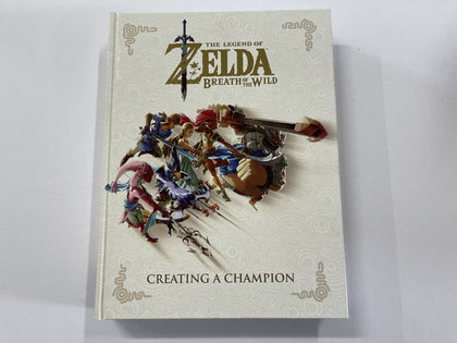 The Legend Of Zelda Breath Of The Wild Creating A Champion Book