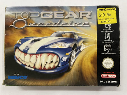 Top Gear Overdrive Complete In Box