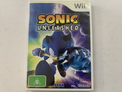 Sonic Unleashed Complete In Original Case