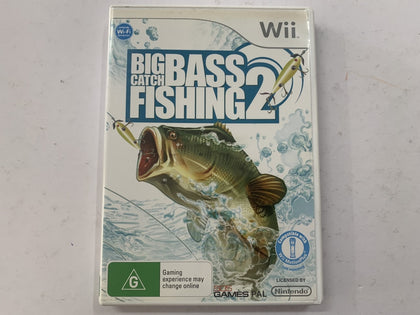 Big Bass Catch Fishing 2 Complete In Original Case