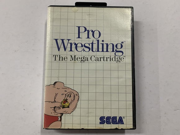 Pro Wrestling Complete In Original Case