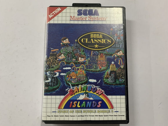 Rainbow Islands Complete In Original Case