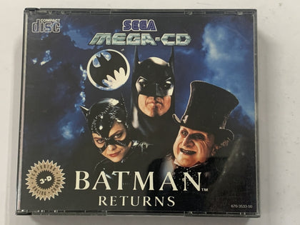 Batman Returns Complete In Original Case for Sega Mega CD