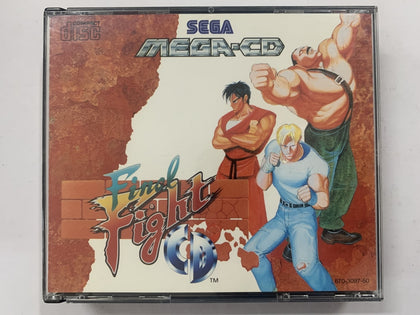 Final Fight CD Complete In Original Case for Sega Mega CD