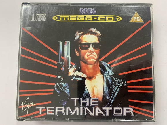 The Terminator Complete In Original Case for Sega Mega CD