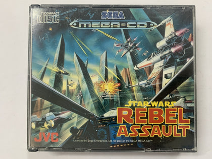 Star Wars Rebel Assault Complete In Original Case for Sega Mega CD