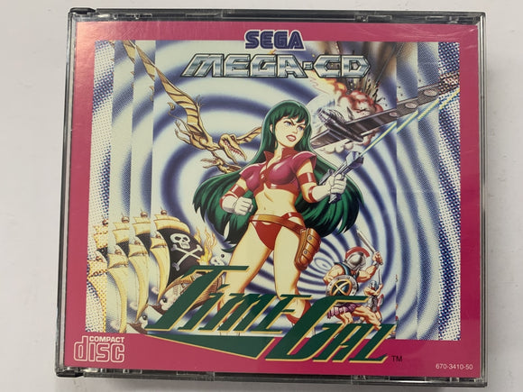 Time Gal Complete In Original Case for Sega Mega CD