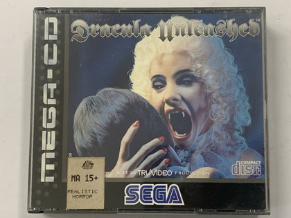 Dracula Unleashed Complete In Original Case for Sega Mega CD