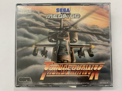 Thunderhawk Complete In Original Case for Sega Mega CD