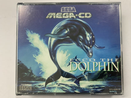 Ecco The Dolphin Complete In Original Case for Sega Mega CD