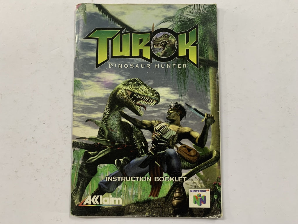 Turok Dinosaur Hunter Game Manual