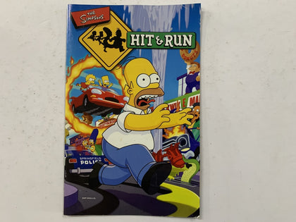The Simpson's Hit & Run Game Manual