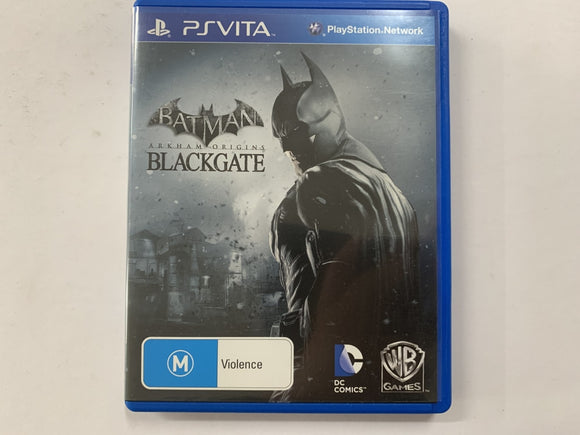 Batman Arkham Origins Blackgate Complete In Original Case