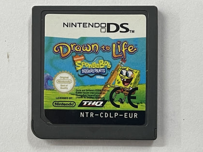 Drawn To Life Spongebob Squarepants Cartridge